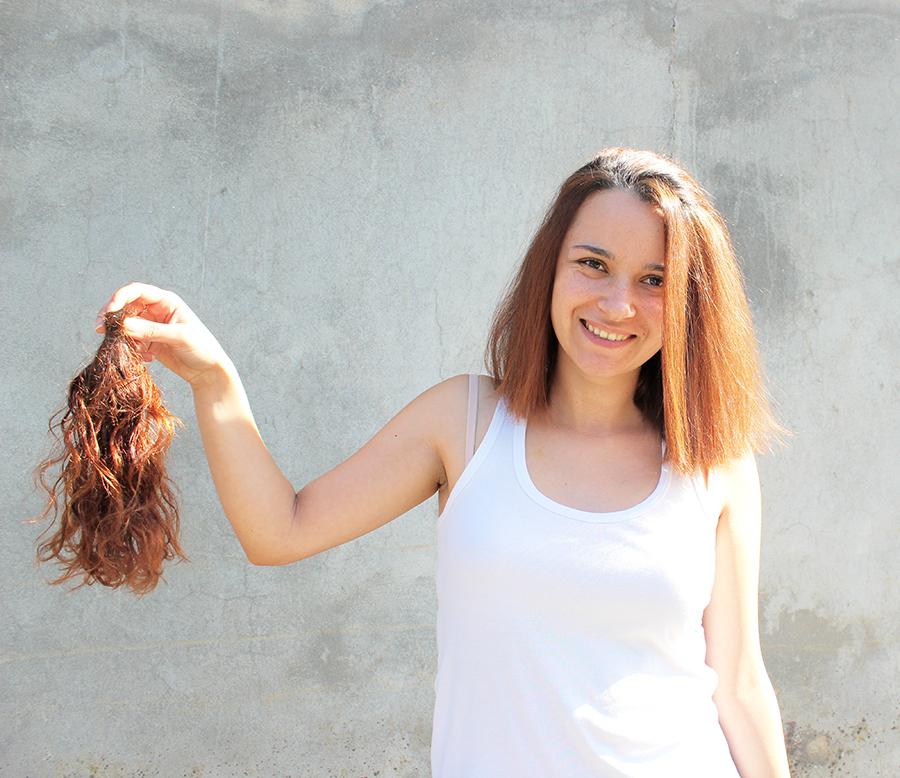 Doar cabelo a instituição